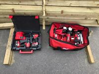 Milwaukee m18 5.0 power tool set