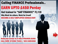 ACCA, CIMA STUDENT EARN UPTO £450 PER DAY, GET TRAINED IN SAP FINANCE