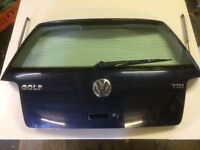 VW GOLF 1.9 TDI SE 2002 TAILGATE INDIGO BLUE