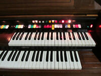 LOWREY ORGANS MODEL M-325 GREAT CONDITION FULLY WORKING FREE DELIVERY IN LIVERPOOL
