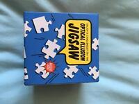Optical illusion jigsaw puzzle