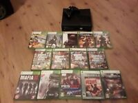 XBOX 360 250gb - 2015 build - with 14 games - Clydebank - WILL DELIVER IN VICINITY OF GLASGOW