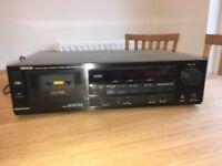 Denon Stereo Cassette Tape Deck Model Number: DR M12HX