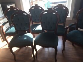 Stunning vintage Italian table and chairs