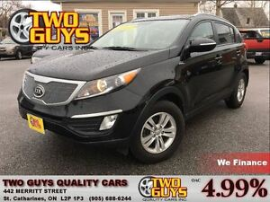 2013 Kia Sportage LX AWD REAR PARKING AID SATELLITE RADIO