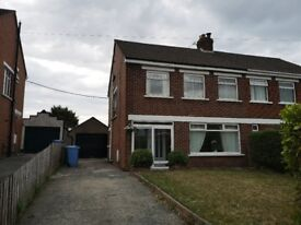3 Bed semi detached house with garden Bangor (off N'ards Road)