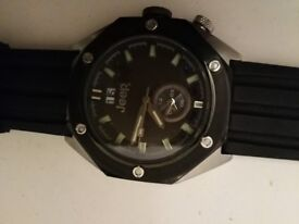 JEEP mans sports watch in vry good condition