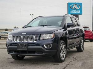 2014 Jeep Compass Limited / LEATHER/ 4X4/ HEATED SEATS/ BLUETOOT