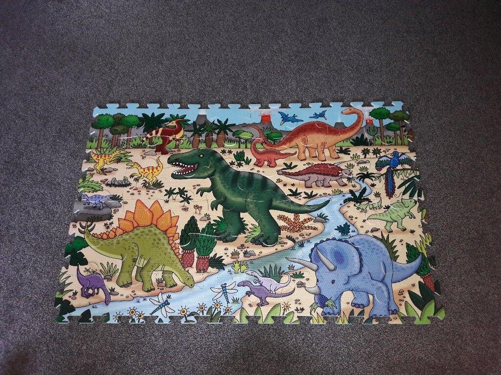Foam Dinosaur Puzzle Mat