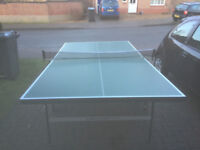 Good quality Dunlop folding Table Tennis table