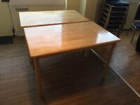 pine tables £20 EACH