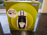 Brand New sealed in box Nescafe Dolce Gusto Latte / Hot Choc machine with bundle of drink pods