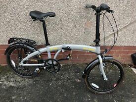 Raleigh Evo-2 Folding Bike, new condition