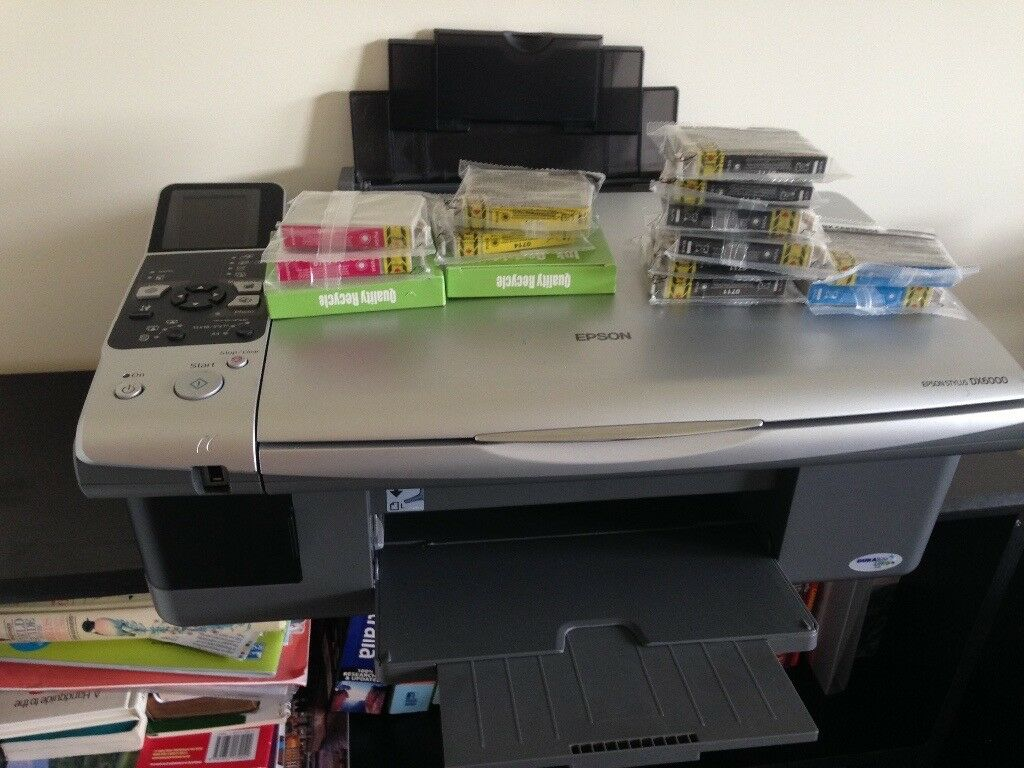 Epsom DX6000 printer/scanner/copier with spare inks