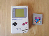 GAMEBOY with TETRIS