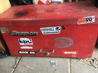 Snap on tool box chest