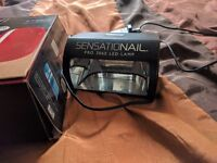 Sensationail Gel LED Nail Lamp with Accessories