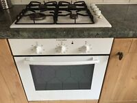 Integrated Electrolux electric cooker and gas hob