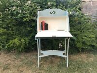 Small antique desk bureau painted