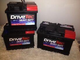 Brand new car/ van Batterys (063/075/096/100 type)