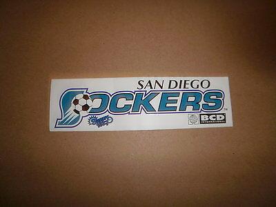CISL San Diego Sockers Vintage Defunct Logo Soccer Bumper Sticker