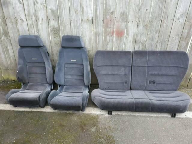 RECARO rs2000 seats trim escort mk5 xr3i cabby van modified orion replica  rep cosworth | in Tyne and Wear | Gumtree