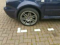 "18"" alloys -Audi- VW- 5x100"