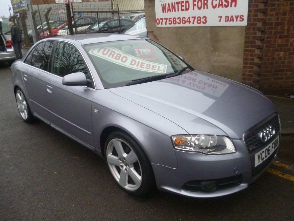 audi a4 s line tdi 140 1968 cc 4 door saloon great looking. Black Bedroom Furniture Sets. Home Design Ideas