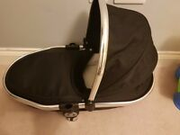 iCandy Peach 3 Twin Carrycot Black Magic