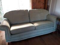Sofa - Green Stripe