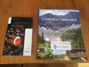 Campbell Biology Textbook Concordia Custom Edition