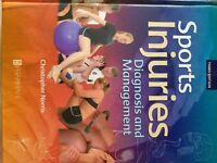 Sports Injuries- Diagnosis and Management 3rd edition. Christopher Norris