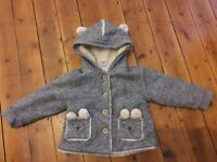 """Next"" baby girl coat size 12-18 months"