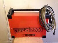 TIG welder, Kemppi Master 2200 Portable Tig Welding Set