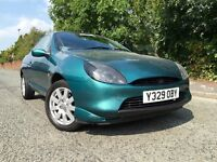 *** BARGAIN *** 2001 FORD PUMA 1.6 THUNDER, MANUAL, LOW MILEAGE, DRIVES GREAT, 1/2 TANK FUEL INCLUDE