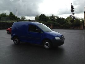 Volkswagen caddy 2.0 diesel clean van cheap tax perfect on fuel ready to go