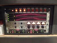 Behringer Rack mounted studio mic system