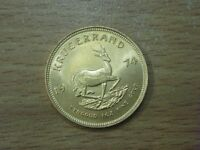SOUTH AFRICAN 1974 1oZ FINE GOLD FULL KRUGERRAND