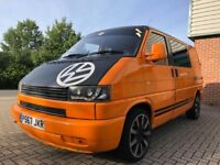 VW T4 transporter campervan with MOT, blowup awning and site hookup (ONO)
