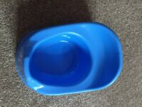 Boots blue potty