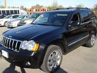 2008 Jeep Grand Cherokee Limited Diesel Leather NAV Roof