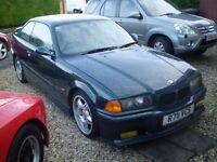 Bmw e36 328i M sport 2 door may take part exchange