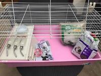 Guinea Pig Cage & Accessories