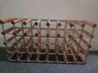 32 Bottle Bespoke Wooden Wine Rack
