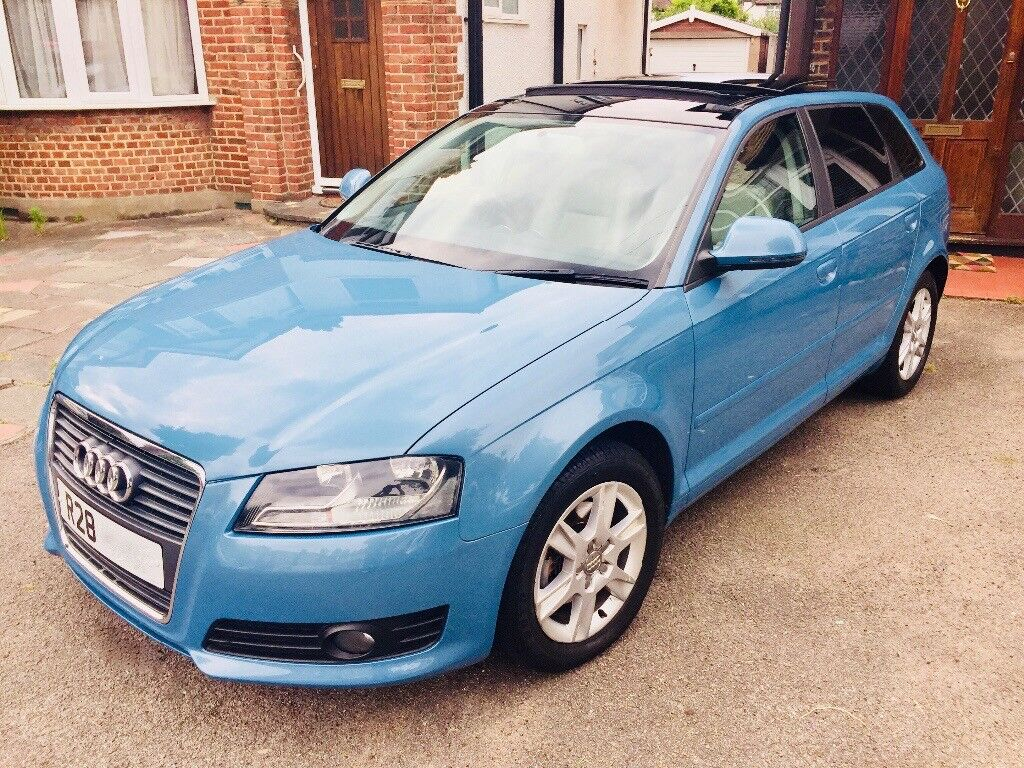 2009 Facelift Audi A3 - Top Spec, Sunroof, Heated Leather, Folding Mirrors  VW Gold Bmw 1 series   in Purley, London   Gumtree