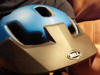 Bell stoker cycle helmet,large,good as new ,only worn twice.