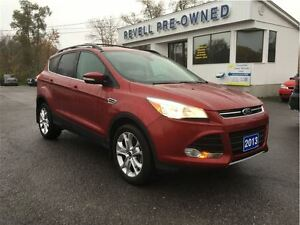2013 Ford Escape SEL 4WD *One Owner Trade, Heated Leather, Power