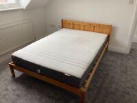 Ikea HOVAG HÖVÅG pocket sprung medium firm double mattress