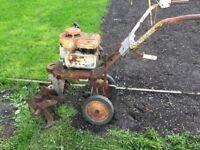 Old rotovator old roller ect