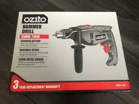 Ozito Hammer Drill 13mm 710W BRAND NEW